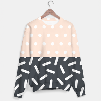 Miniatur Random Geo - Dots and Dashes Sweater, Live Heroes