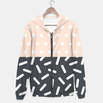 Miniatur Random Geo - Dots and Dashes Hoodie, Live Heroes