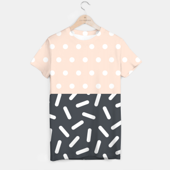 Miniatur Random Geo - Dots and Dashes T-shirt, Live Heroes