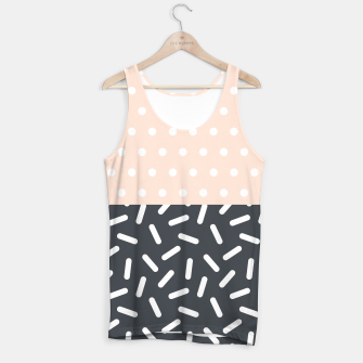 Miniatur Random Geo - Dots and Dashes Tank Top, Live Heroes