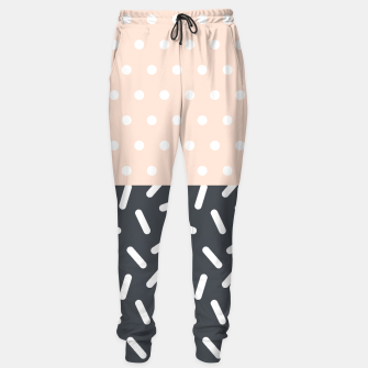 Miniature de image de Random Geo - Dots and Dashes Sweatpants, Live Heroes