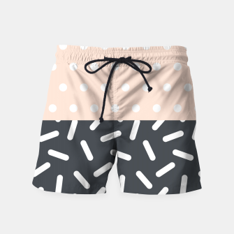 Thumbnail image of Random Geo - Dots and Dashes Swim Shorts, Live Heroes