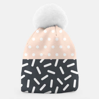 Miniatur Random Geo - Dots and Dashes Beanie, Live Heroes