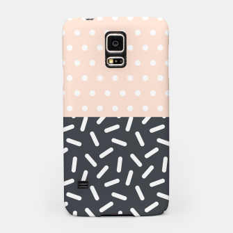 Miniatur Random Geo - Dots and Dashes Samsung Case, Live Heroes