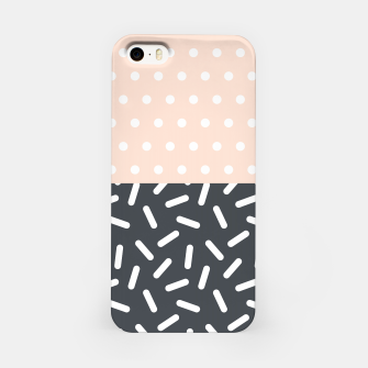 Miniatur Random Geo - Dots and Dashes iPhone Case, Live Heroes