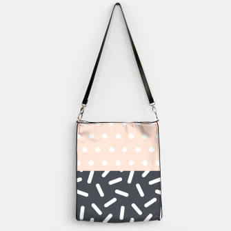 Miniatur Random Geo - Dots and Dashes Handbag, Live Heroes