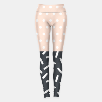 Miniatur Random Geo - Dots and Dashes Leggings, Live Heroes