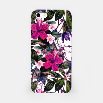 Thumbnail image of Pattern antique botanical flowers01 Carcasa por Iphone, Live Heroes