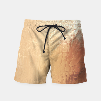 Thumbnail image of Melted Gold Swim Shorts, Live Heroes