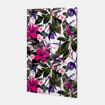 Thumbnail image of Pattern antique botanical flowers01 Canvas, Live Heroes