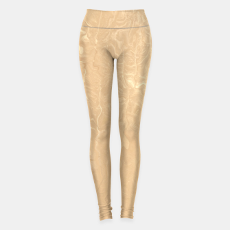 Miniatur Melted Gold Leggings, Live Heroes