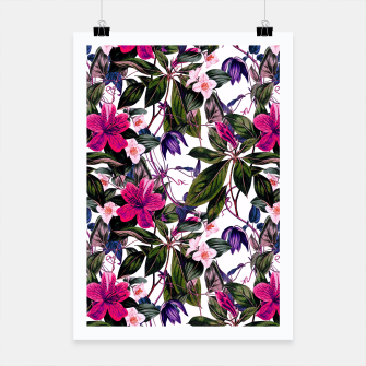 Thumbnail image of Pattern antique botanical flowers01 Cartel, Live Heroes