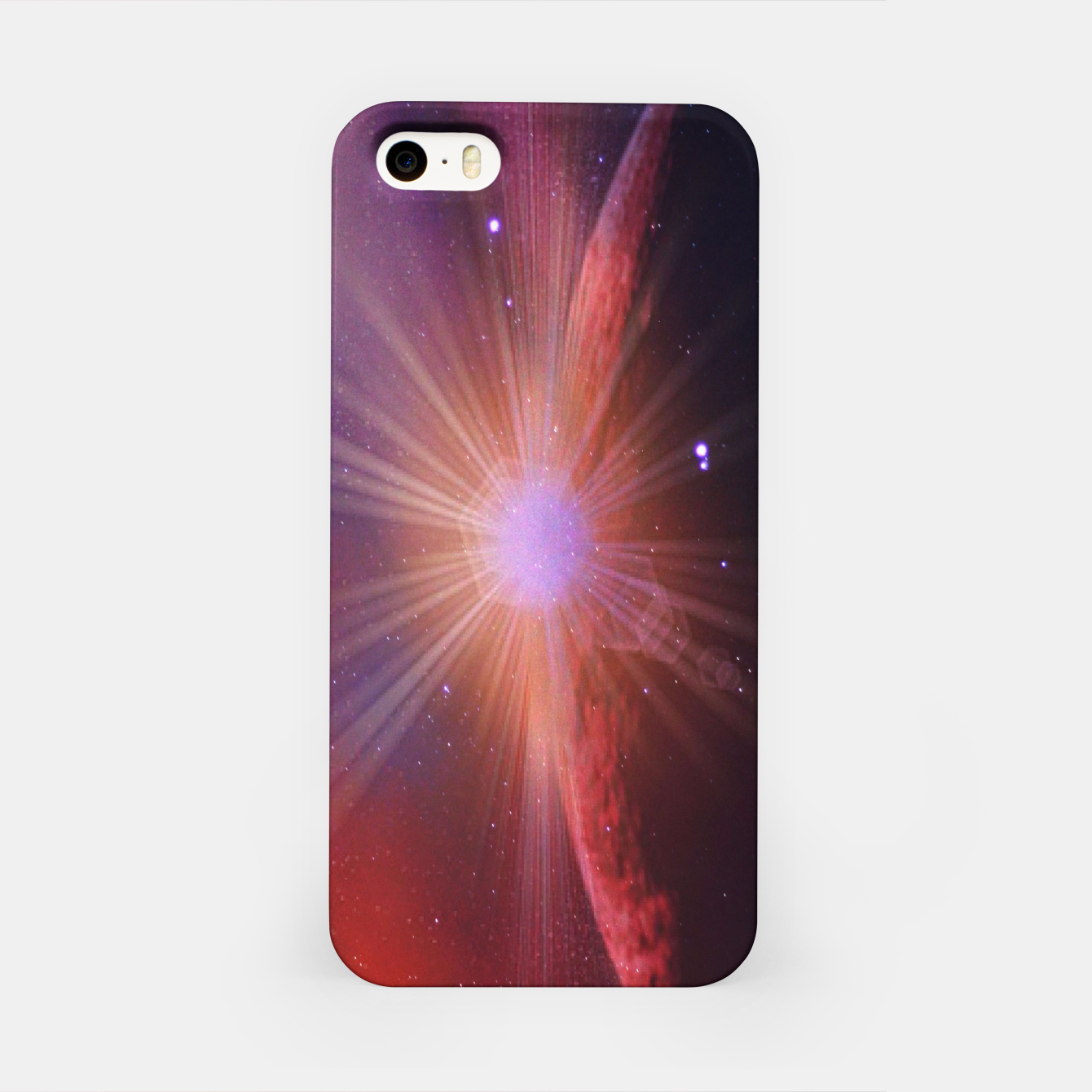 Image of Mars rises iPhone Case - Live Heroes
