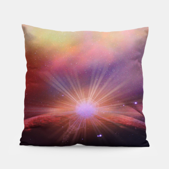 Thumbnail image of Mars rises Pillow, Live Heroes