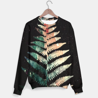Thumbnail image of Watercolour Fern Leaf Sweater, Live Heroes