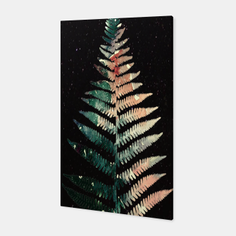 Thumbnail image of Watercolour Fern Leaf Canvas, Live Heroes
