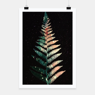 Thumbnail image of Watercolour Fern Leaf Poster, Live Heroes