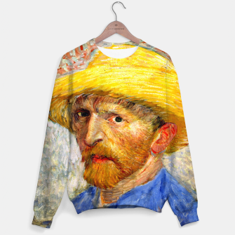 Miniaturka Vincent Van Gogh-Self-With Straw Hat 1887 Sweater, Live Heroes