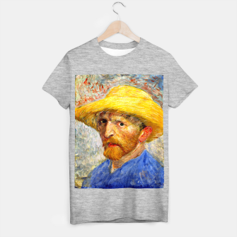 Thumbnail image of Vincent Van Gogh-Self-With Straw Hat 1887 T-shirt regular, Live Heroes