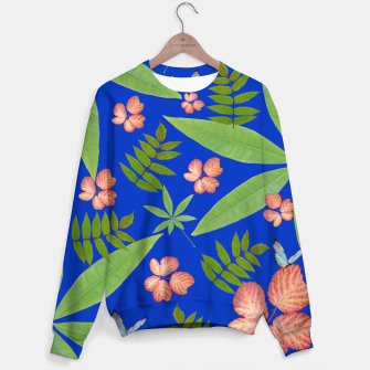 Thumbnail image of Leaves on Blue Sweater, Live Heroes