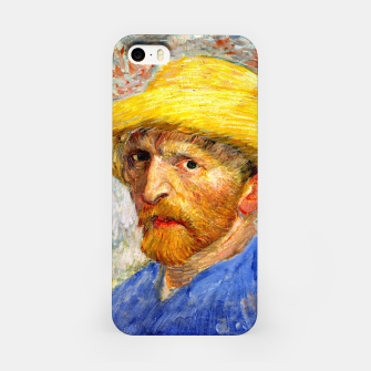Miniaturka Vincent Van Gogh-Self-With Straw Hat 1887 iPhone Case, Live Heroes