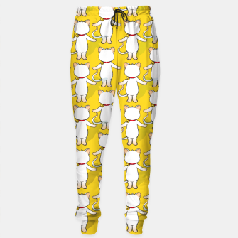 Miniature de image de White cat your write face Sweatpants, Live Heroes