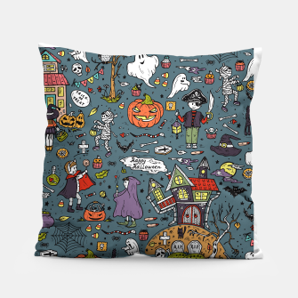 Thumbnail image of Halloween Pillow, Live Heroes