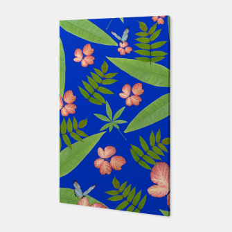 Thumbnail image of Leaves on Blue Canvas, Live Heroes