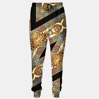 Thumbnail image of AM55-GeoMat-M2-135 Sweatpants, Live Heroes