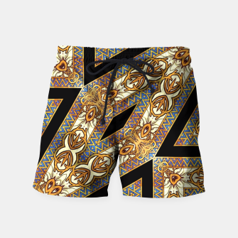 Thumbnail image of AM55-GeoMat-M2-135 Swim Shorts, Live Heroes