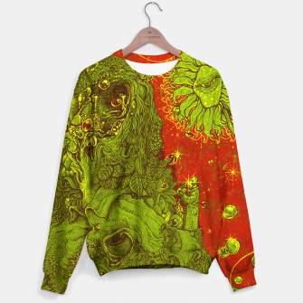 Thumbnail image of Sunflower green & Red Sky Sweater, Live Heroes