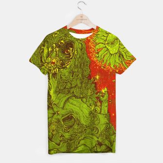 Thumbnail image of Sunflower green & Red Sky T-shirt, Live Heroes
