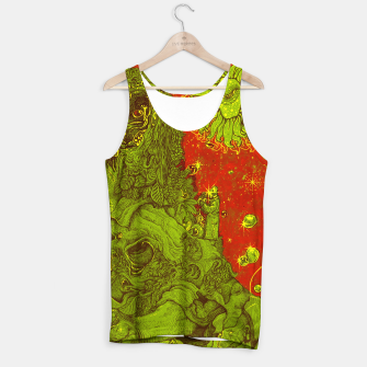 Thumbnail image of Sunflower green & Red Sky Tank Top, Live Heroes