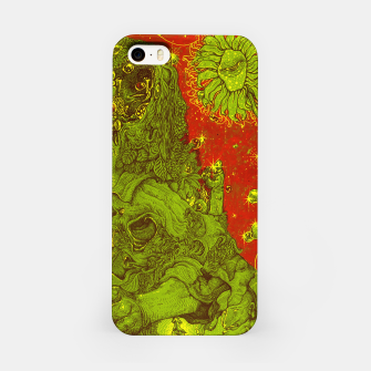 Thumbnail image of Sunflower green & Red Sky iPhone Case, Live Heroes