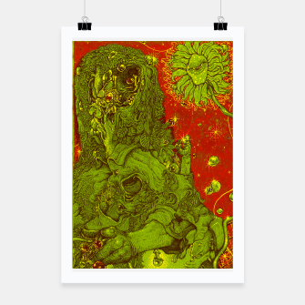 Thumbnail image of Sunflower green & Red Sky Poster, Live Heroes