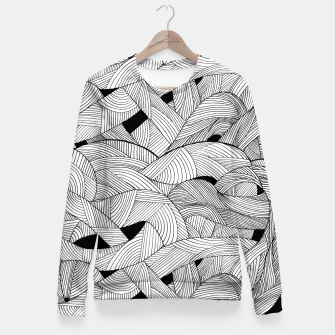 Miniatur Tangled Waves Fitted Waist Sweater, Live Heroes