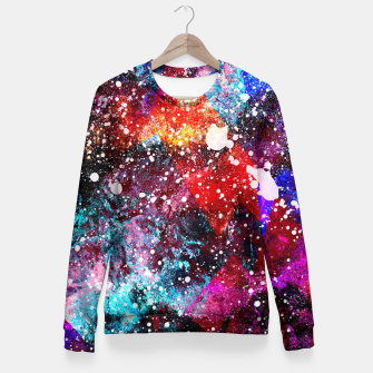 Miniatur The Nebula Fitted Waist Sweater, Live Heroes
