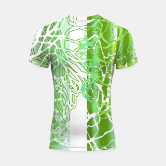 Thumbnail image of THE GREEN OCEAN Shortsleeve Rashguard, Live Heroes