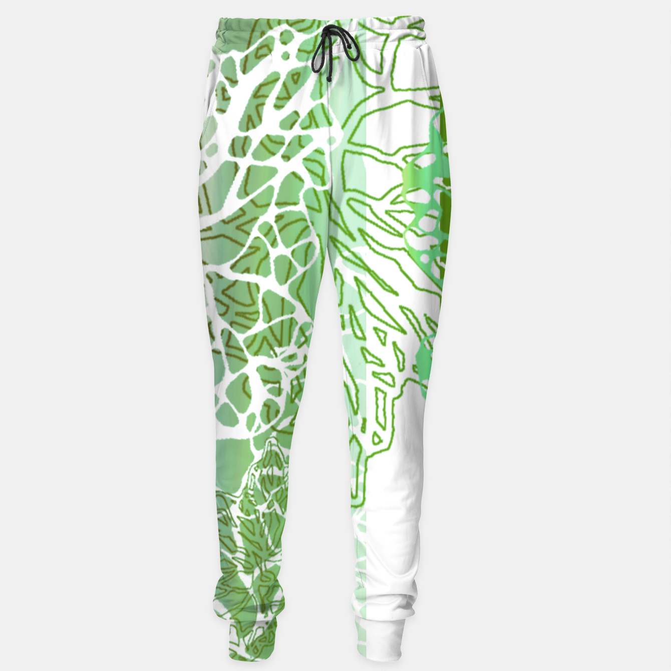 Image of THE GREEN OCEAN Sweatpants - Live Heroes