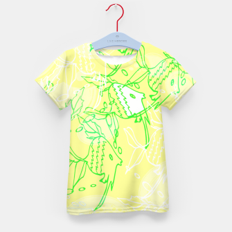 Thumbnail image of YELLOW FISHES IN THE SEA Kid's T-shirt, Live Heroes