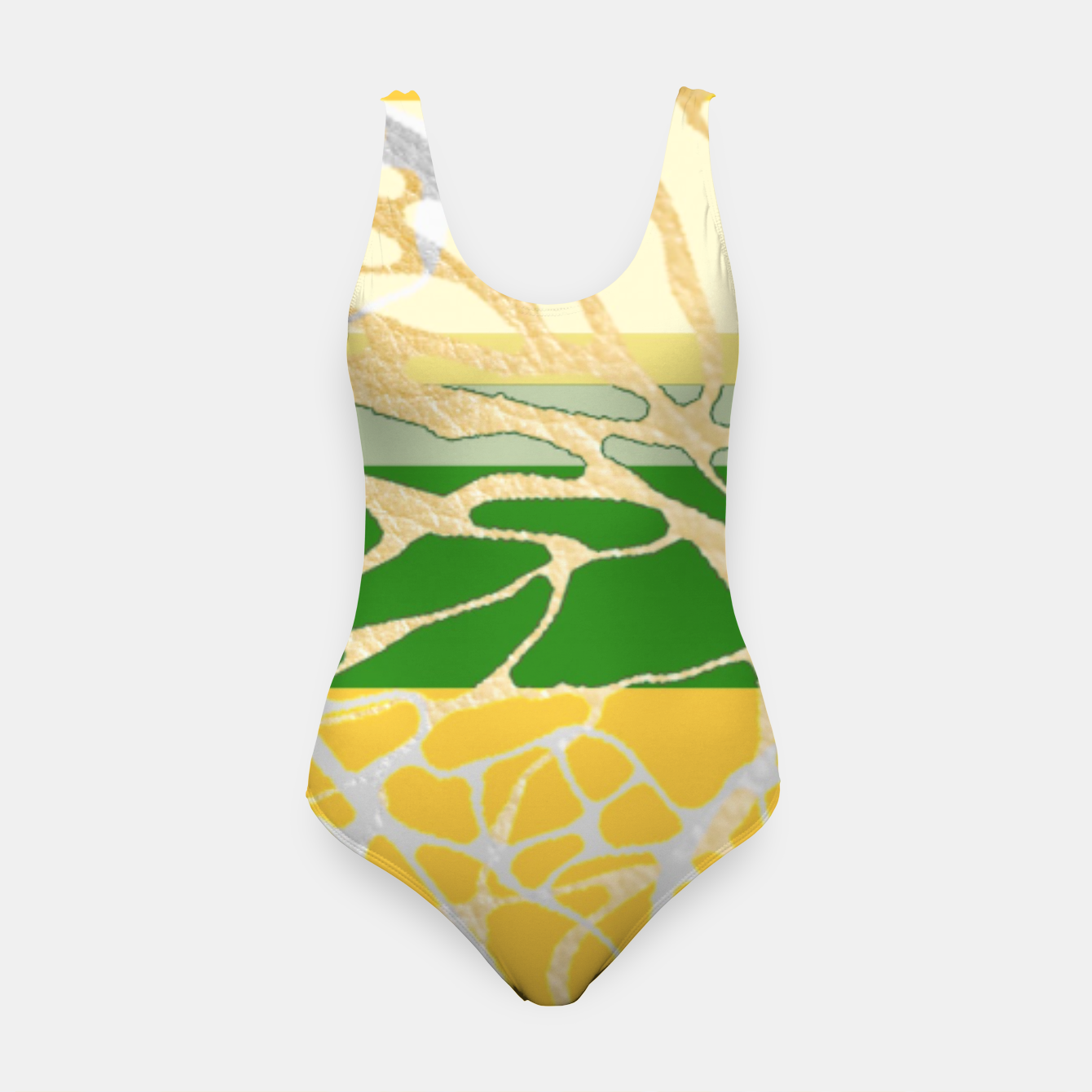 Image of Nr2 - THE LOST  GREEN TREE  Swimsuit - Live Heroes