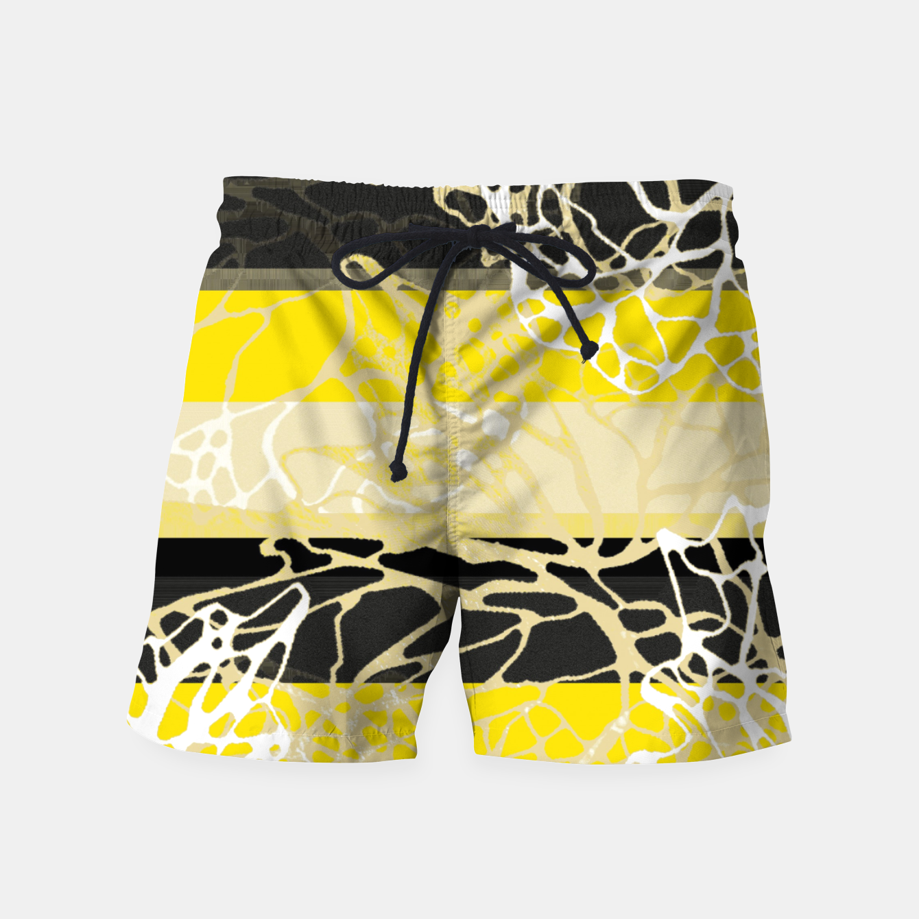 Image of  Nr 1 -THE LOST BLACK TREE Swim Shorts - Live Heroes