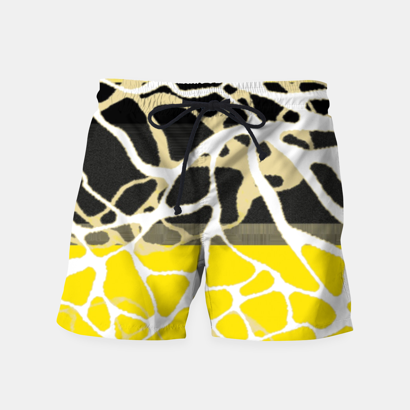 Image of Nr 2 -THE LOST BLACK TREE Swim Shorts - Live Heroes