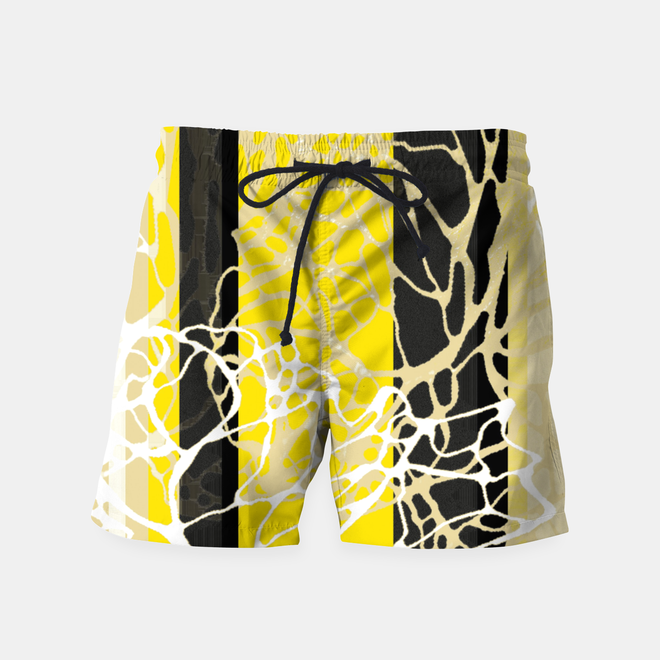 Image of Nr 3 - THE LOST BLACK TREE Swim Shorts - Live Heroes