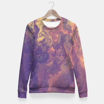 Thumbnail image of Flowy Abstract Fitted Waist Sweater, Live Heroes