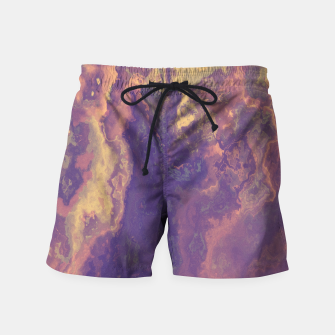 Thumbnail image of Flowy Abstract Swim Shorts, Live Heroes