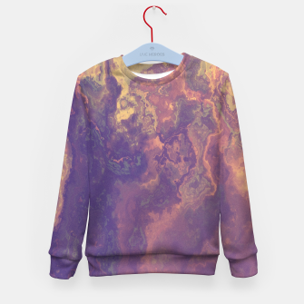 Thumbnail image of Flowy Abstract Kid's Sweater, Live Heroes