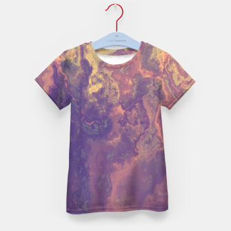 Thumbnail image of Flowy Abstract Kid's T-shirt, Live Heroes