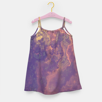 Thumbnail image of Flowy Abstract Girl's Dress, Live Heroes