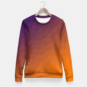 Miniaturka gradient Fitted Waist Sweater, Live Heroes